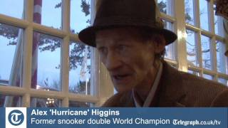 Alex 'Hurricane' Higgins: latest interview 2010