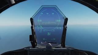 DCS: F/A-18C Air to Air Tutorial