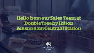 Sales team - The DoubleTree by Hilton cookie