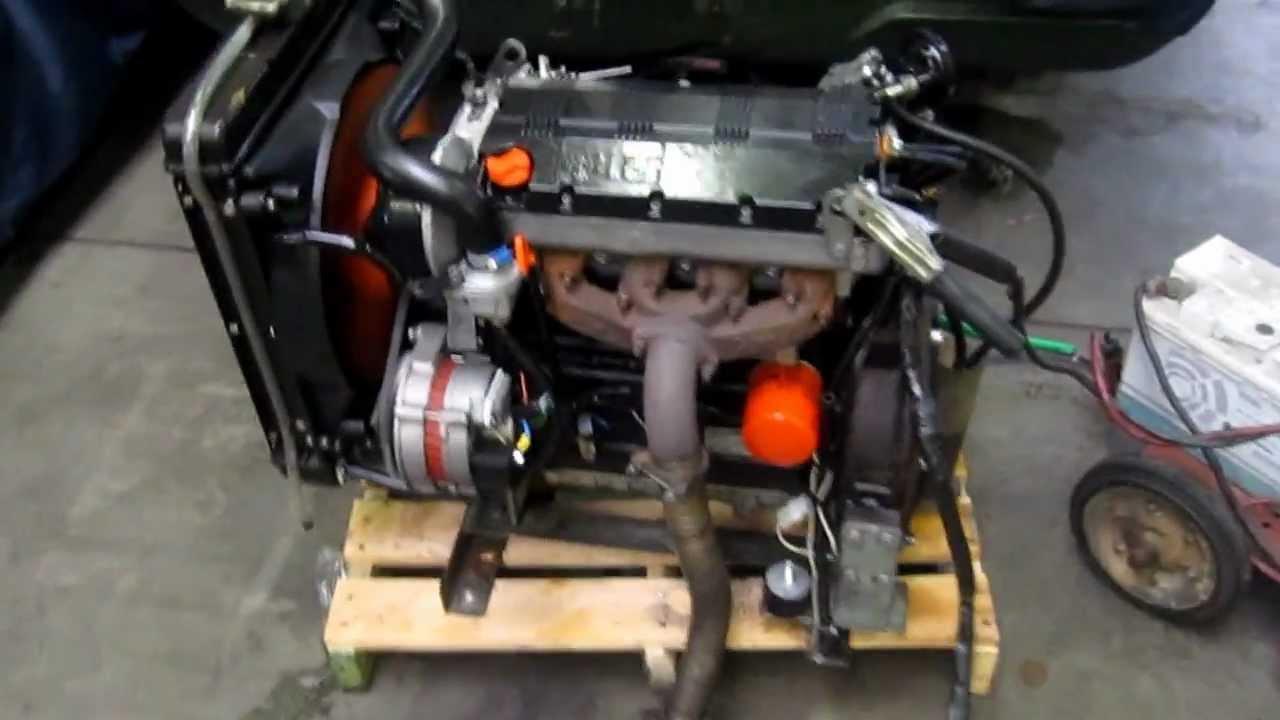 Lombardini 1404 4cil 1372cc Diesel Youtube