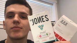Juul Pods vs Jones Pods