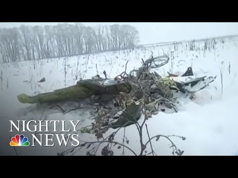 Russian Passenger Plane Crash Leaves 71 Dead | NBC Nightly News