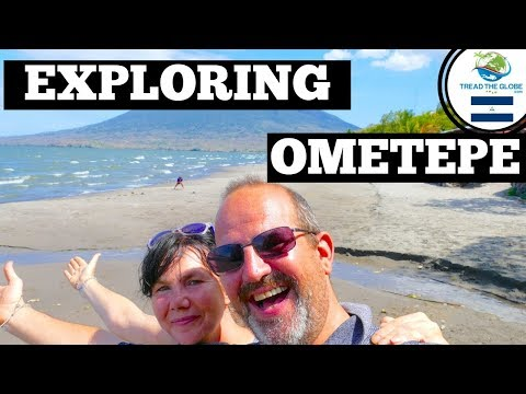 Backpacking Nicaragua (2019) Ometepe by motorbike scooter| Ojo de Agua baths | Things to see Ometepe