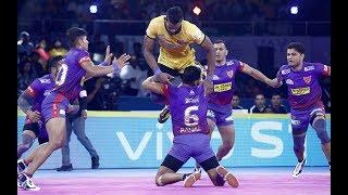 Pro Kabaddi 2019: Telugu Titans vs Dabang Delhi Highlights [Hindi]