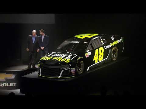 Brand new look for Jimmie Johnson