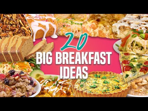 20 Breakfast Recipes for a Crowd | Holiday Breakfast and Brunch Recipe Compilation