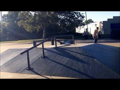 Newton Skatepark Clip Vid