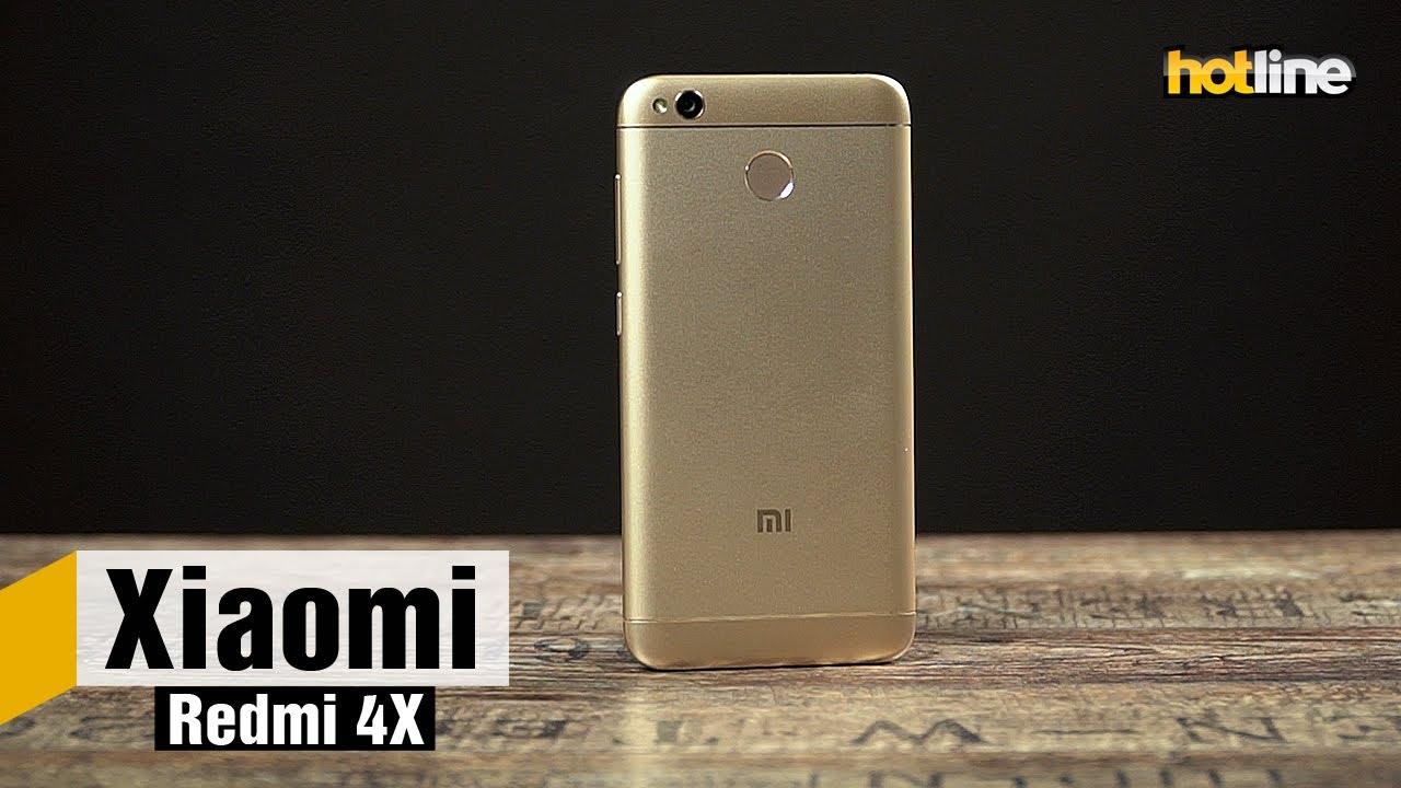 Xiaomi Redmi 4X — обзор смартфона
