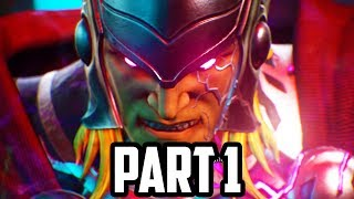 Marvel vs Capcom Infinite Gameplay Walkthrough Part 1 - STORY MODE CHAPTER 1! (PS4 PRO)