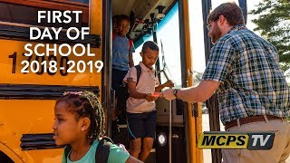 MCPS First Day of School 2018