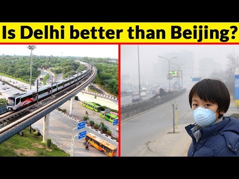 Delhi vs Beijing City Comparison (2018)