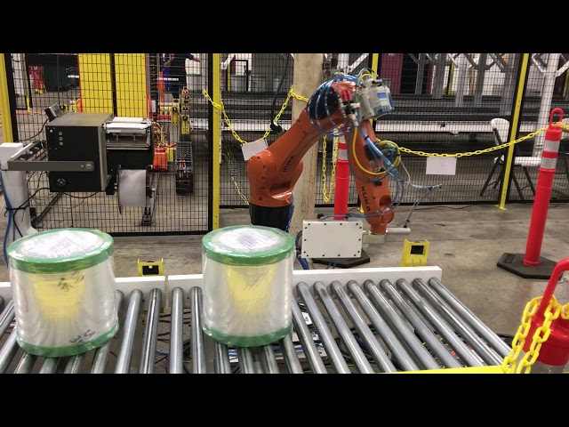 Robotic Roll Labeling | Autotec Solutions