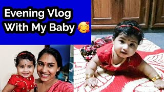 Evening Vlog With My Baby 🥰😘||Day In Our Life ||Malayali Makeover