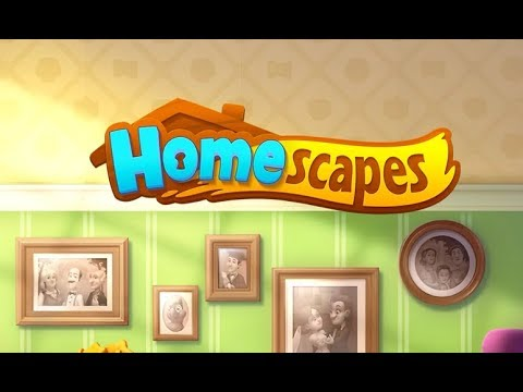 HOMESCAPES (NEW GARDENSCAPES GAME) Gameplay Story Walkthrough Video