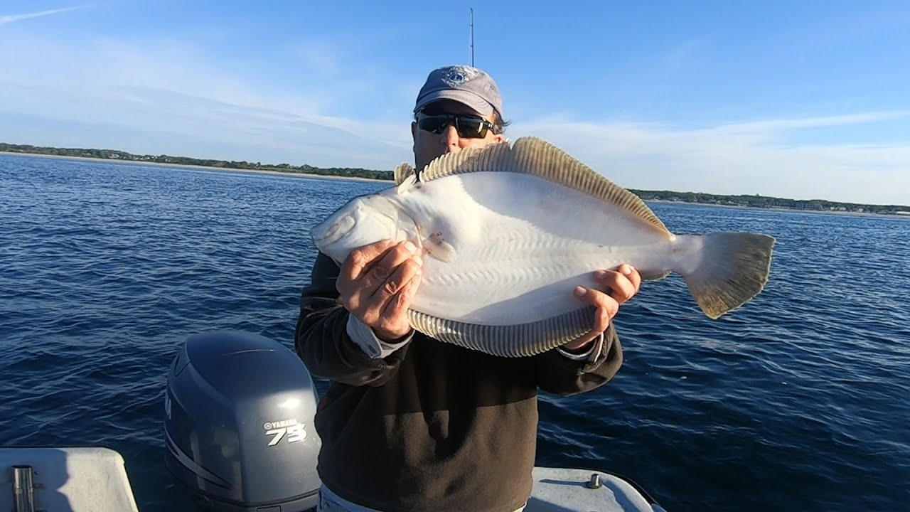 Fluke Catch Clean and Cook + Key'd in Stripers on Sand Eels