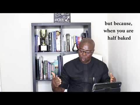 Lack of KNOWLEDGE can lead to REJECTION//Rev Emem Esenam