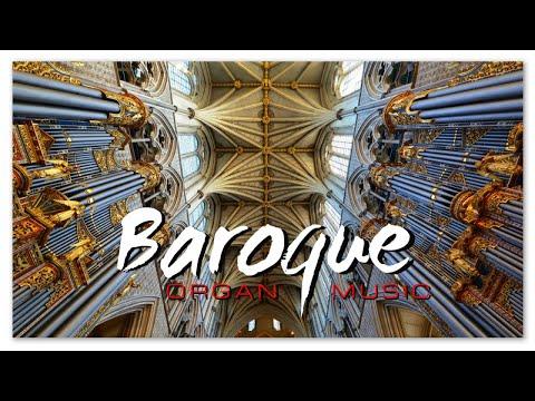 Baroque Renaissance Organ Music   Classical Music HD