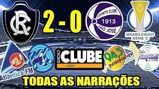 Todas as narrações - Remo 2 x 0 São José / Brasileirão Série C 2019