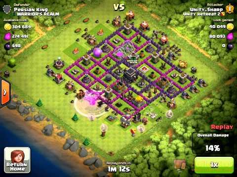 TH 10 Hog Healer Strategy (Raid 4)  [Uploaded by Unity Sharp]