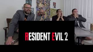 Resident Evil 2 Remake E3 2018 Announcement Trailer Reaction