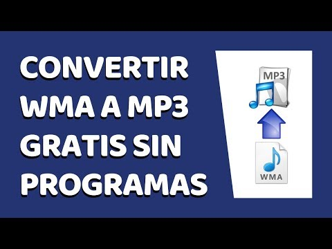 How to Convert WMA to MP3 Without Software Windows 7 (2017)