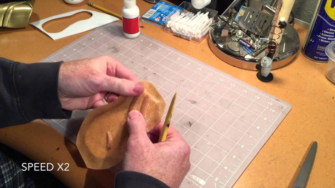 How to create Worbla Armor: Basic Cosplay Tutorial - YouTube
