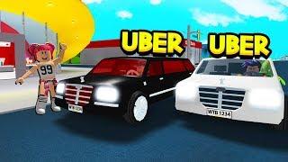 NOOB Vs PRO LIMO DRIVER IN ROBLOX BLOXBURG!!