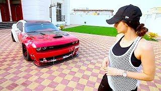 Hellcat VS Ferrari !!!