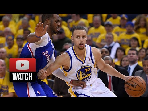 Chris Paul vs Stephen Curry Full Duel Highlights 2014 Playoffs West R1G3 - Clippers at Warriors