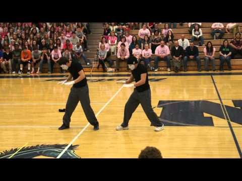 Dance competition- Grant and Brandon