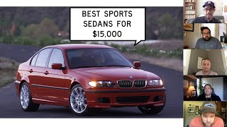homepage tile video photo for We Find the Best Sports Sedans for $15,000: Window Shop with Car and Driver