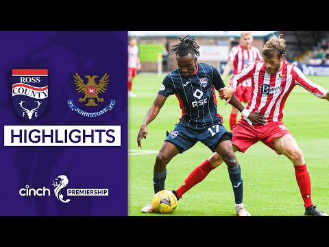Ross County St. Johnstone Goals And Highlights
