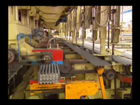 Automatic Packing Line With Stacking Machine For Canales, Steel Channel, U-bar