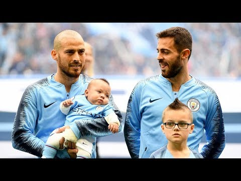 The reason why David Silva carried his baby boy as a mascot for Man City's last game - Oh My Goal