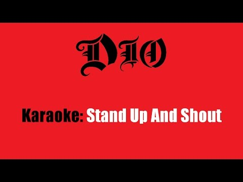 Karaoke: Dio / Stand Up And Shout