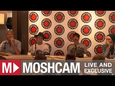Red Hot Chili Peppers | Sydney Press Conference 2013 | Moshcam