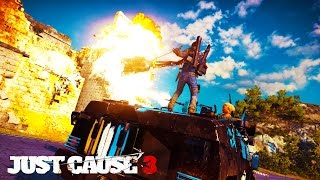 Just Cause 3 - ATTACKING THE MILITARY BASE!!!  ep. 8 - JC3 Let's Play & Funny Moments!