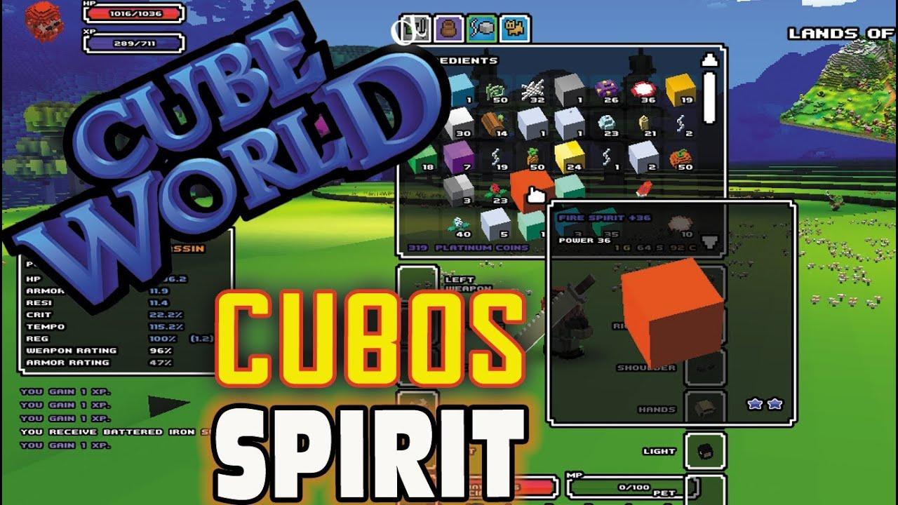 cube world spirit cubes