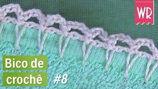 Bico de crochê MEGA fácil e simples para fralda