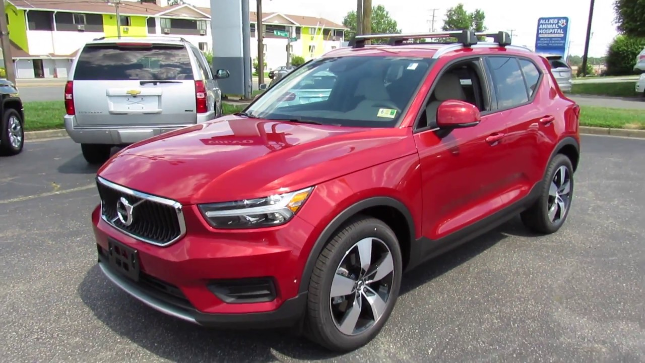 2019 volvo xc40 t4 momentum walkaround start up tour and. Black Bedroom Furniture Sets. Home Design Ideas