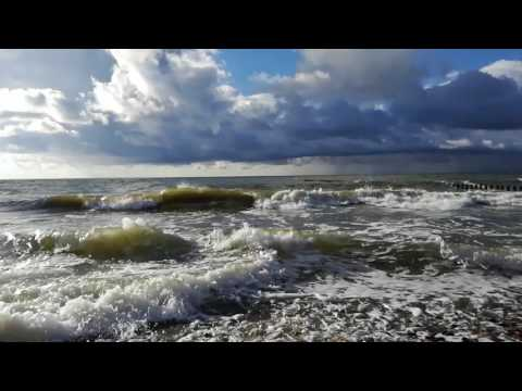 Szum morza - Szum fal - Biały szum - Relaks -  (white noise Polish - sea waves - 2 hours)