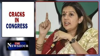 Cracks in Rahul's inner circle, Priyanka Chaturvedi revolts | The Newshour Debate (17th Apr)