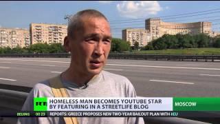 Homeless Video: Vagabond's v-log goes viral on YouTube