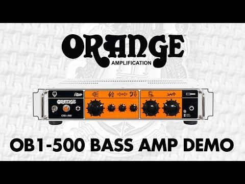 NAMM 2015: Orange OB1-500 Demo at GAK