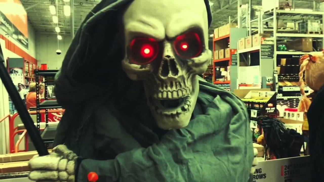 The home depot halloween 2015 let 39 s do spooky youtube Halloween decorations home depot