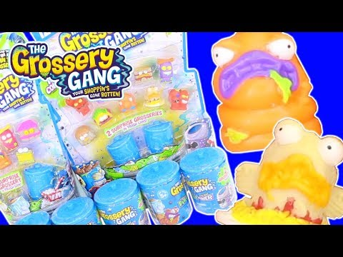 SEASON 3 GROSSERY GANG | SERIES 3 UNBOXING PALOOZA | PUTRID POWER HAUL | Toy Unboxing