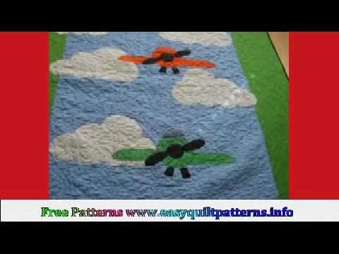 Airplane Baby Quilt Patterns Free Airplane Quilt Designs