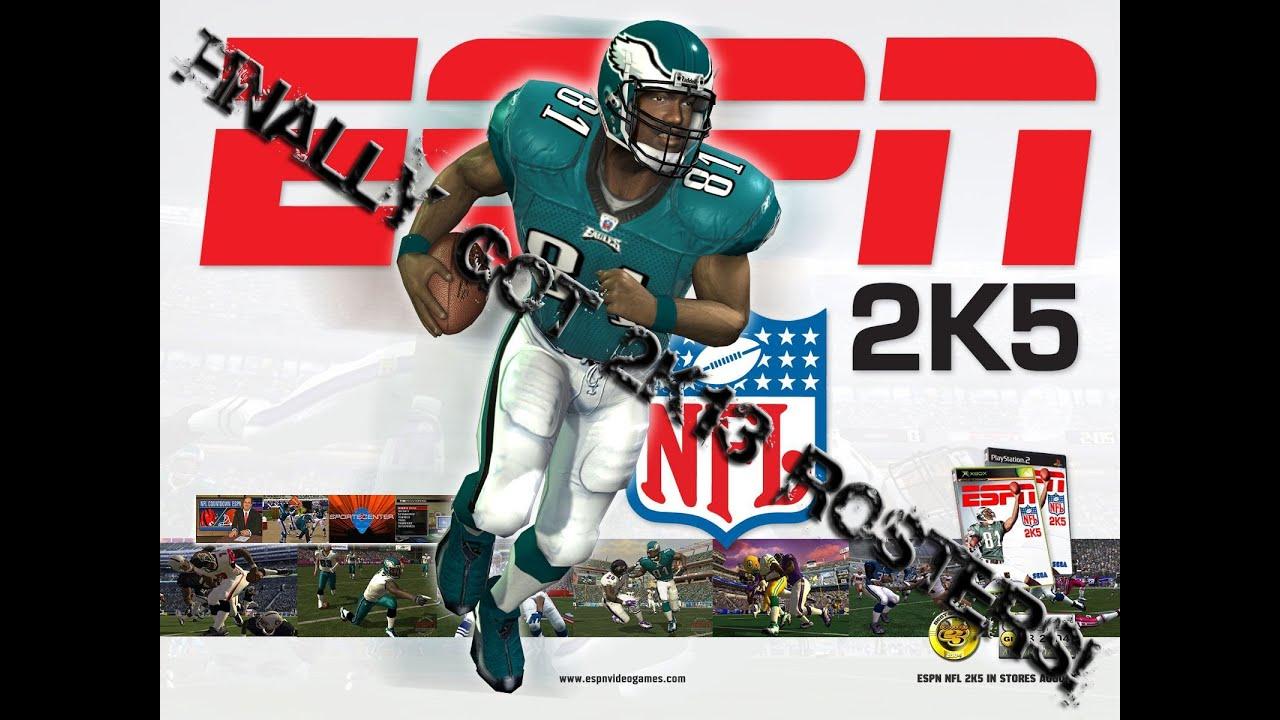 ESPN NFL 2K5: Finally Got The 2K13 Rosters!  YouTube