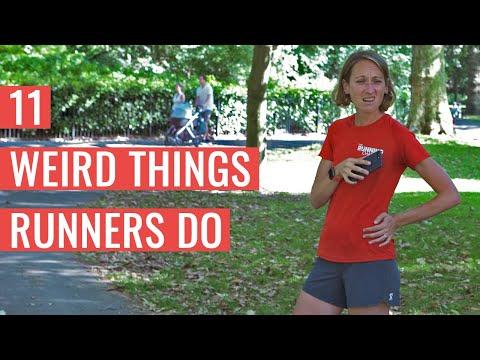 11 WEIRD Things Runners Do