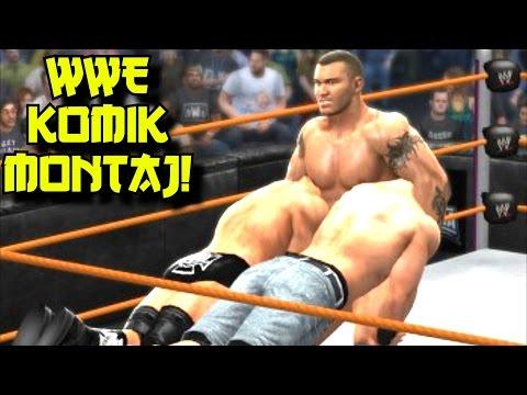 Komik Montaj WWE 2K   Efsane Anlar Ve Komik Buglar   Ümidi HD   Ps4